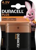 1 Duracell Plus Power 4,5V / MN1203 Alkaline Batterie Blister