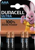 4 Duracell Ultra Power AAA / Micro / MX2400 Alkaline Batterien im 4er Blister