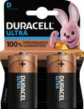 2 Duracell Ultra Power D / Mono / MX1300 Alkaline Batterien im 2er Blister