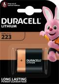 1 Duracell High Power CR-P2 / DL223 Lithium Batterie Blister