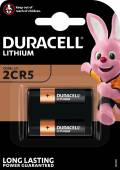 1 Duracell Ultra Photo 2CR5 / DL245 Lithium Batterie Blister