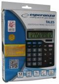 Esperanza Taschenrechner Tales Desktop Electronic Calculator schwarz ECL101