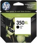HP Druckerpatrone Tinte Nr. 350 XL BK black, schwarz