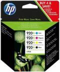 4 HP Druckerpatronen Tinte Nr. 920 XL BK / C / M / Y Multipack