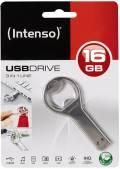 Intenso USB Stick 16GB Speicherstick 3in1 Line Flaschenöffner