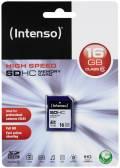 Intenso SDHC Karte 16GB Speicherkarte Class 10