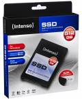 Intenso SSD interne Festplatte Top High-Speed MLC 2,5 Zoll 512GB SATA III