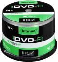 50 Intenso Rohlinge DVD-R 4,7GB 16x Spindel