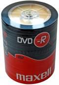 100 Maxell Rohlinge DVD-R 4,7GB 16x Shrink