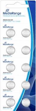 10 Mediarange AG10 / LR54 / V10GA Alkaline Knopfzelle Batterien im 10er Blister