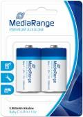 2 Mediarange Premium C / Baby Alkaline Batterien im 2er Blister