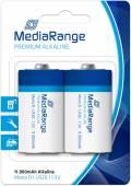 2 Mediarange Premium D / Mono Alkaline Batterien im 2er Blister