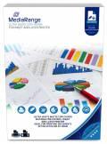 500 Mediarange Blatt Kopierpapier DIN A4 beidseitig 80g/m² hochweiß