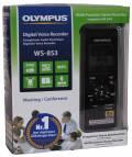 Olympus digitales Diktiergerät WS-853 8GB MP3 schwarz