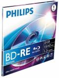 1 Philips Rohling Blu-Ray BD-RE 25GB 2x Jewelcase