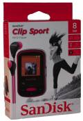 Sandisk MP3 Player Clip Sport 8GB 1,44 Zoll Display Radio Hörbücher AAC pink