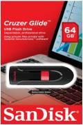 Sandisk USB Stick 64GB Speicherstick Cruzer Glide schwarz