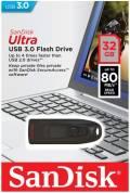 Sandisk USB Stick 32GB Speicherstick Cruzer Ultra schwarz USB 3.0