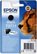 Epson Druckerpatrone Tinte T0711 BK black, schwarz