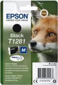 Epson Druckerpatrone Tinte T1281 BK black, schwarz