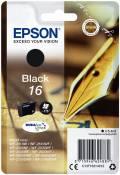 Epson Druckerpatrone Tinte 16 T1621 BK black, schwarz