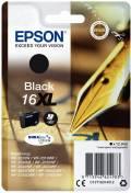Epson Druckerpatrone Tinte 16 XL T1631 BK black, schwarz