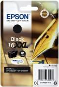 Epson Druckerpatrone Tinte 16 XXL T1681 BK black, schwarz