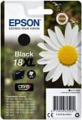 Epson Druckerpatrone Tinte 18 XL BK black, schwarz