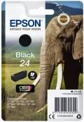 Epson Druckerpatrone Tinte 24 T2421 BK black, schwarz