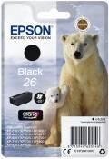 Epson Druckerpatrone Tinte 26 T2601 BK black, schwarz
