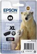 Epson Druckerpatrone Tinte 26 XL T2631 PBK photo black, photo schwarz
