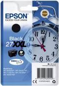 Epson Druckerpatrone Tinte 27 XXL T2791 BK black, schwarz