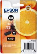Epson Druckerpatrone Tinte 33 XL T3361 PBK photo black, photo schwarz