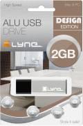 Xlyne USB Stick 2GB Speicherstick ALU silber