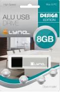 Xlyne USB Stick 8GB Speicherstick ALU silber