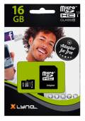 Xlyne Micro SDHC Karte 16GB Speicherkarte UHS-I Class 10