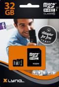 Xlyne Micro SDHC Karte 32GB Speicherkarte UHS-I Class 10