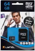 Xlyne Micro SDXC Karte 64GB Speicherkarte UHS-I Class 10