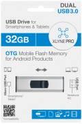 Xlyne USB Stick 32GB Speicherstick PRO OTG Dual USB 3.0 mit Micro USB Anschluss