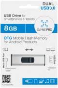 Xlyne USB Stick 8GB Speicherstick PRO OTG Dual USB 3.0 mit Micro USB Anschluss