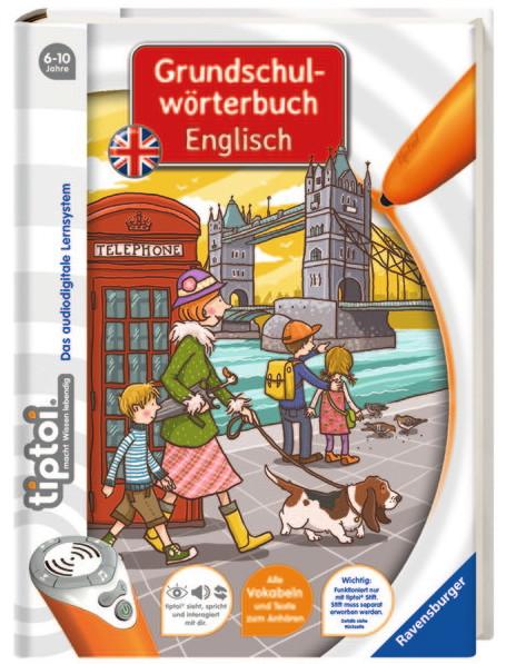 Ravensburger tiptoi Buch Grundschulwörterbuch Englisch 41802
