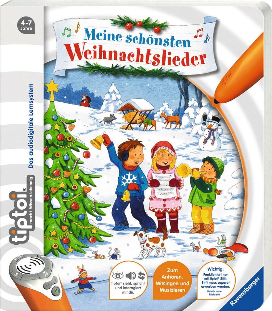 Ravensburger tiptoi Buch Meine schönsten Weihnachtslieder 55410