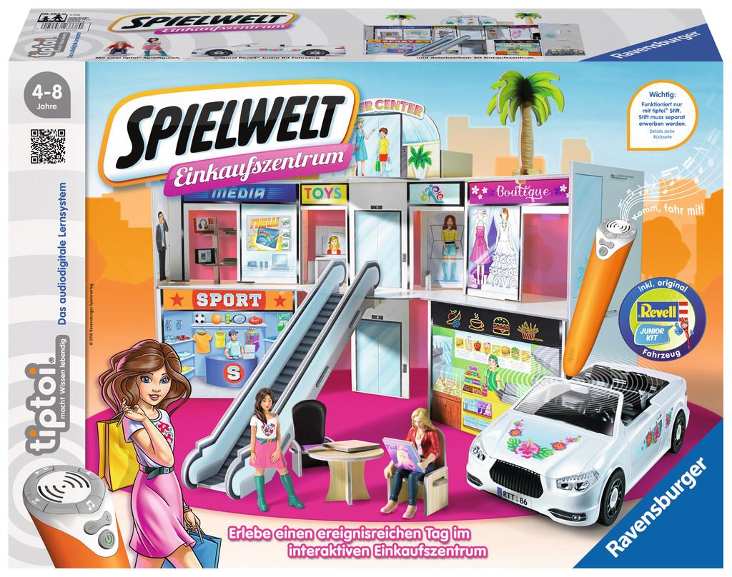 Ravensburger tiptoi Spielwelt Einkaufszentrum 00762