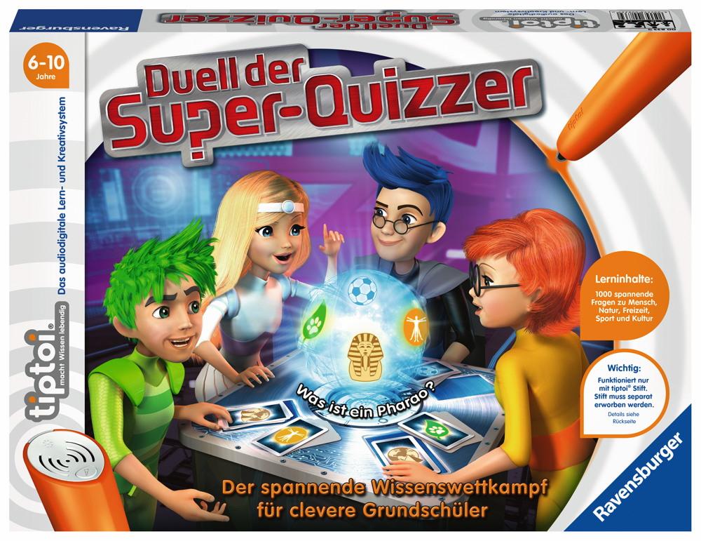 Ravensburger tiptoi Lernspiel Duell der Super-Quizzer 00833