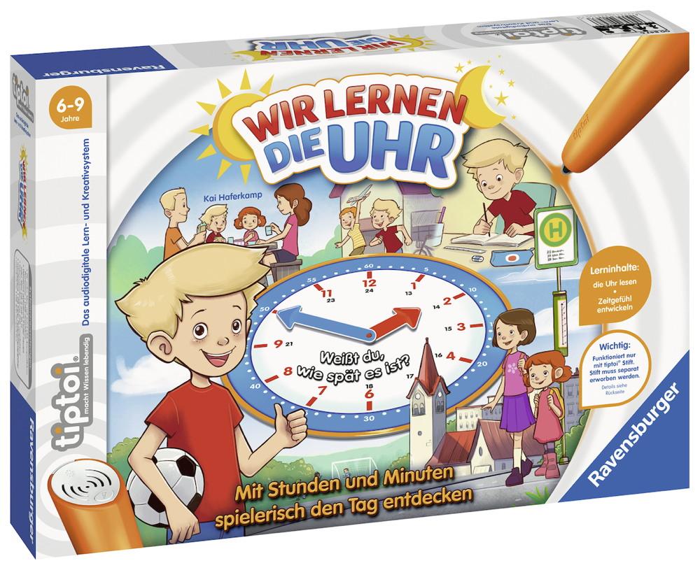 Ravensburger tiptoi Lernspiel Wir lernen die Uhr 00847