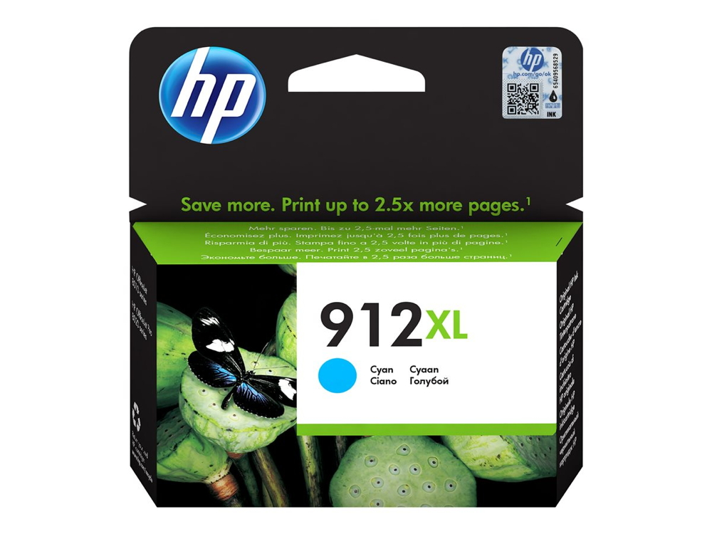 HP Hewlett Packard HP Druckerpatrone Tinte Nr. 912 XL C cyan, blau