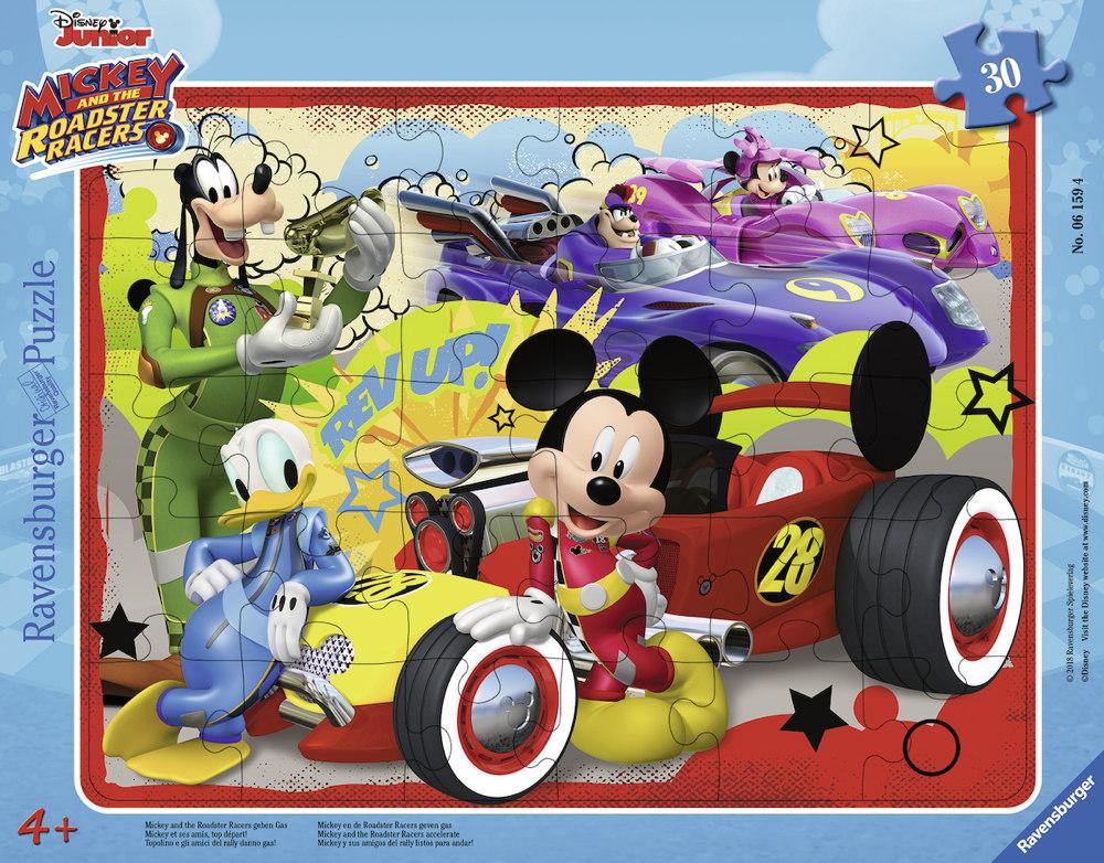 30 Teile Ravensburger Kinder Rahmen Puzzle Disney Junior Mickey die ...