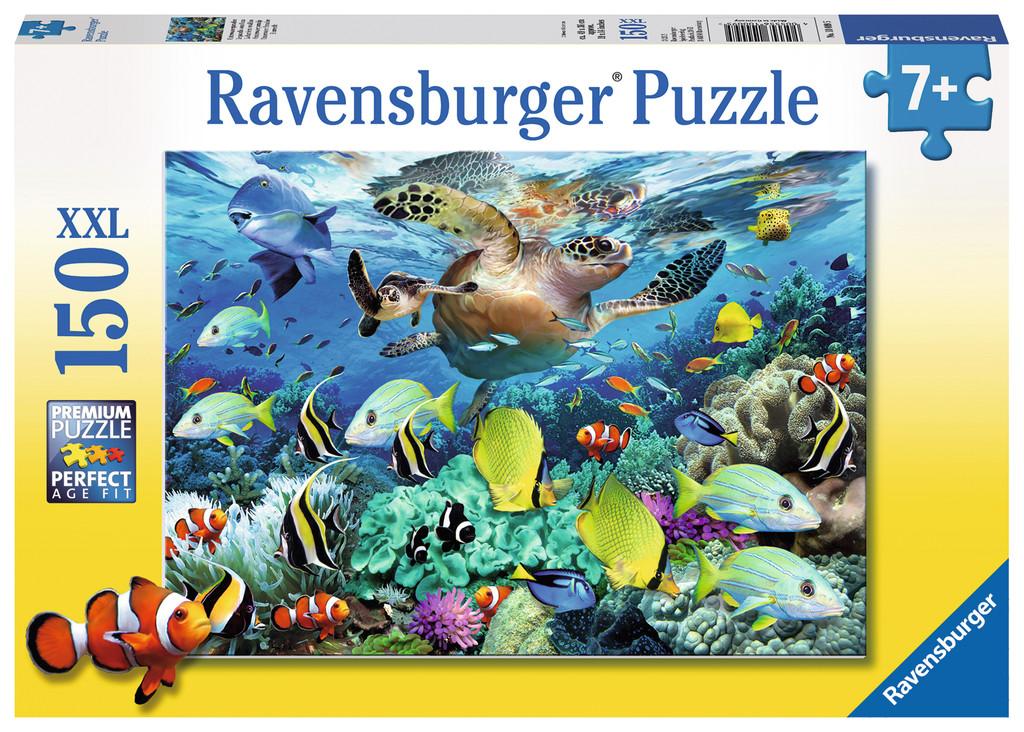 150 Teile Ravensburger Kinder Puzzle XXL Unterwasserparadies 10009