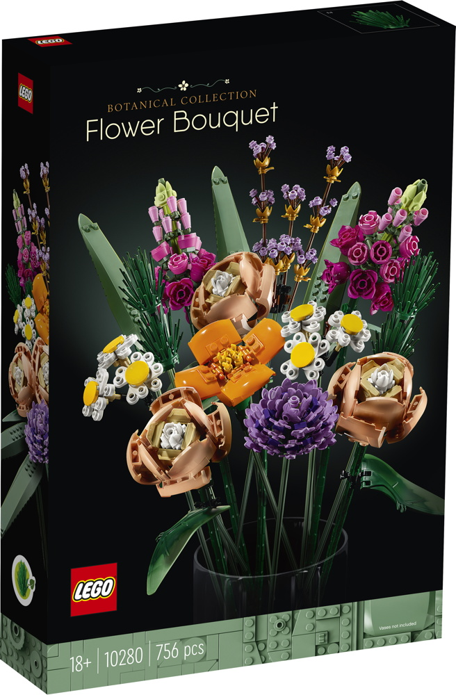 LEGO® Icons Blumenstrauß 756 Teile 10280