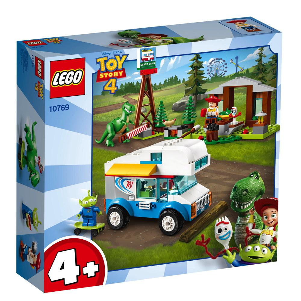 LEGO® 4+ Ferien mit dem Wohnmobil 178 Teile 10769